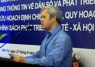 Ông Nguyễn Bích Lâm, Phó Tổng cục trưởng Tổng cục Thống kê, Bộ Kế hoạch và Đầu tư, Giám đốc Dự án phát biểu chào mừng hội thảo.
