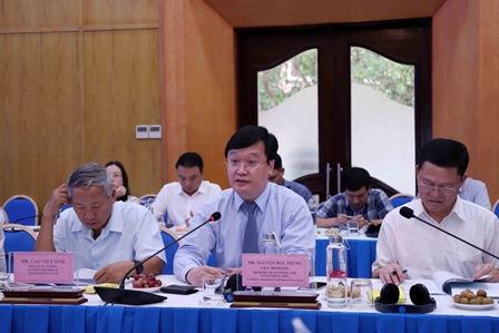 Thứ trưởng Nguyễn Đức Trung phát biểu tại Tọa đàm. Ảnh: MPI