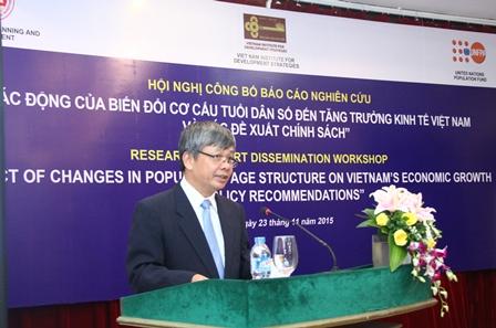 Thứ trưởng Nguyễn Thế Phương phát biểu khai mạc Hội nghị.