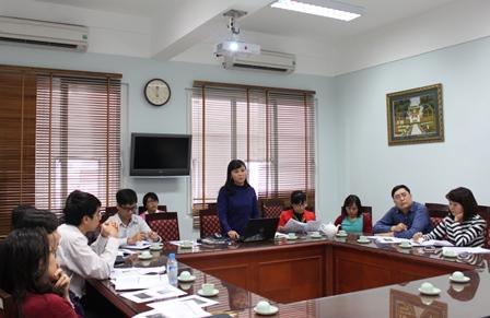 Ths. Nguyễn Quỳnh Trang giới thiệu về phương pháp PRA.