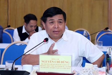 Bộ trưởng Nguyễn Chí Dũng phát biểu tại Hội thảo. Ảnh: MPI