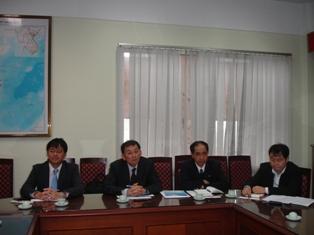 Đoàn Tổ chức Xúc tiến Thương mại Nhật Bản JETRO đến làm việc với Viện Chiến lược phát triển.