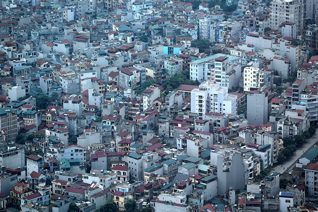 City view of Hanoi, Vietnam on July 16, 2014. Photo © Dominic Chavez/World Bank