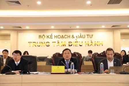 Thứ trưởng Vũ Đại thắng phát biểu tại Cuộc họp. Ảnh: MPI