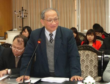 TS. Lê Đăng Doanh phát biểu tại Hội thảo.