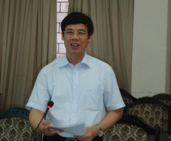 Ông Nguyễn Đình Xứng, Phó Chủ tịch UBND tỉnh Thanh Hóa phát biểu tại tọa đàm.