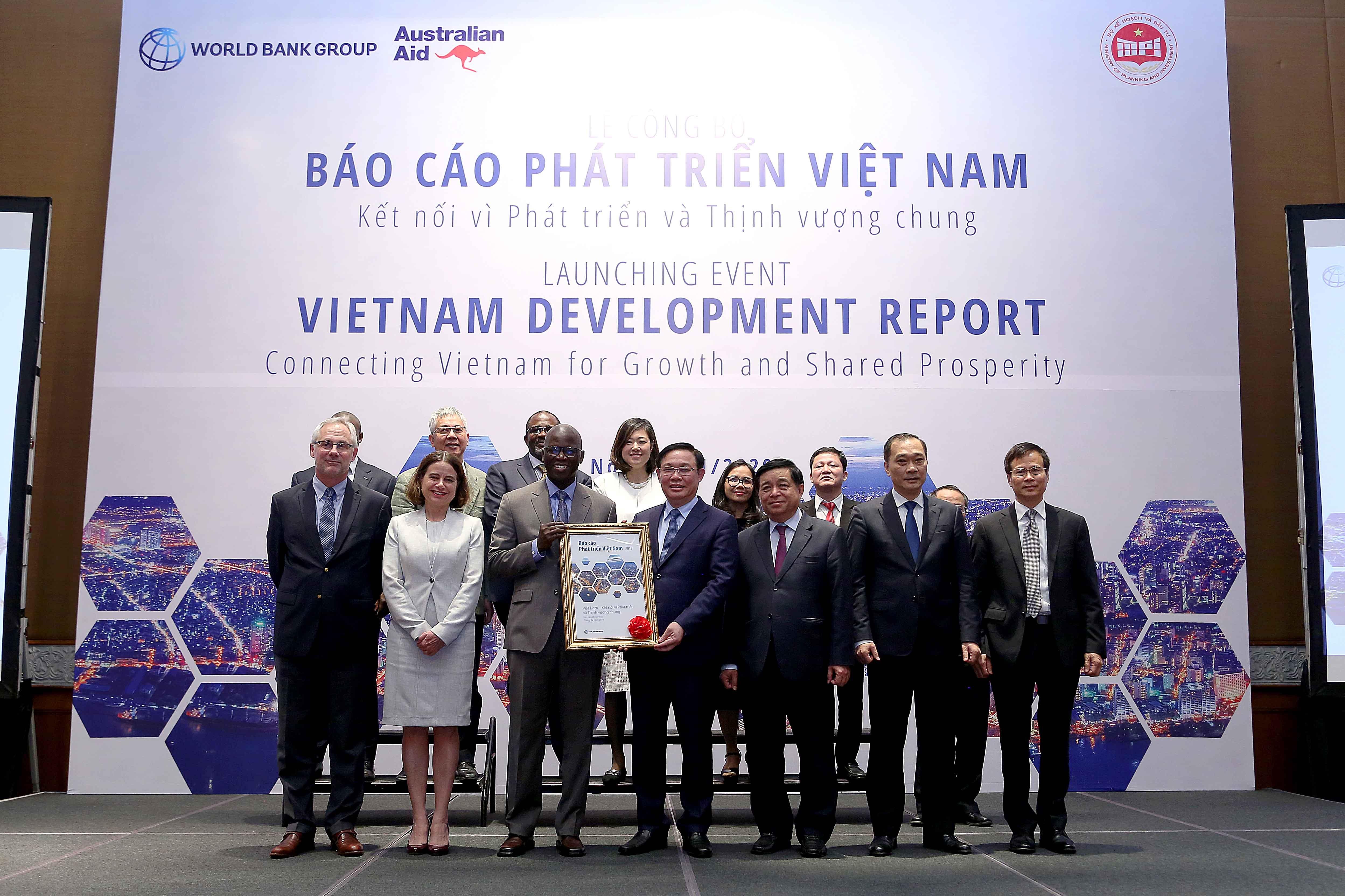 Lễ Công bố Báo cáo phát triển Việt Nam năm 2019