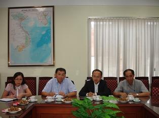 Đoàn Tổ chức Xúc tiến Thương mại Nhật Bản JETRO tại Hà Nội đến làm việc với Viện.