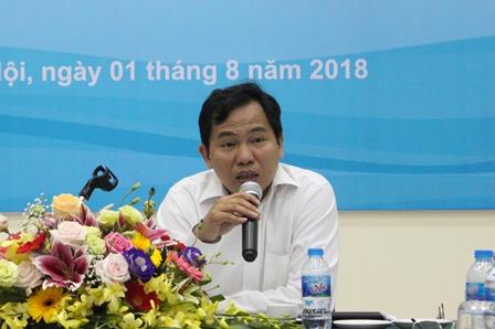 <center>Thứ trưởng Lê Quang Mạnh phát biểu tại Hội thảo.</center>